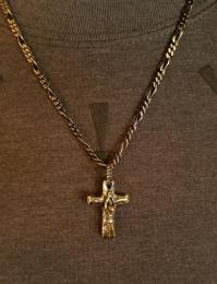 18NT-CR102SB : PENDANT-TOP / CROSS