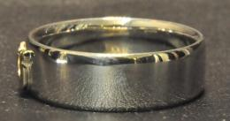 GPR05F : HORSE SHOE PAIR RING (FLAT TYPE)