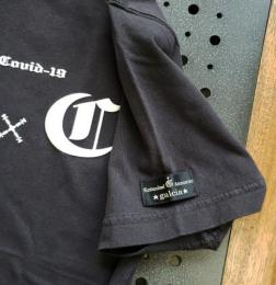 20TFTC19RBK : TEE / FUCK THE COVID-19 BLACK