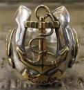 R-MHS005 : Horseshoe & ANCHOR & SWALLOW RING LARGE