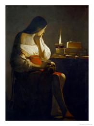AZIP048 :The Magdalene with a Night Light