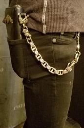 17WCB-AN001BC : SMALL ANCHOR TYPE WALLET CHAIN