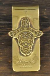 MC007B : MONEY CLIP / SUGAR SKULL