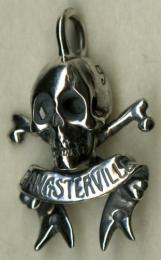 18GSG-NT03SK : GANGSTERVILLE & galcia PENDANT