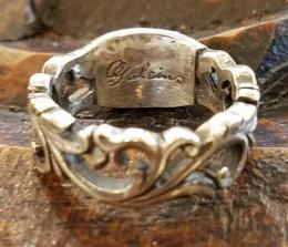 18R-MFC001 : Flower Carving RING XIII