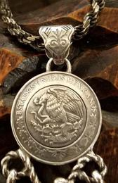 17NT-FE001N : MEXICAN EAGLE & 3 FEATHER