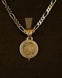 18NT-MP001 : PENDANT / MEXICAN PESO