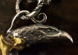 16NT-AG002BS : PENDANT / Claws of an eagle