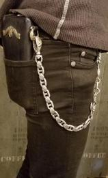 17WCS-AN002SB : LARGE ANCHOR TYPE WALLET CHAIN